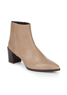 Stuart Weitzman Zepher Leather Booties