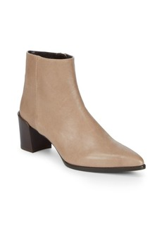Stuart Weitzman Zepher Leather Booties