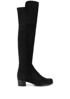 Stuart Weitzman thigh-high low heel boots