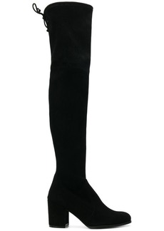 Stuart Weitzman thigh-length heeled boots