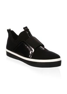 Stuart Weitzman Wayfare Leather Sneakers