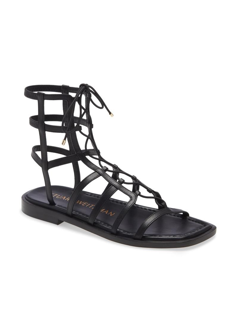 Stuart Weitzman Stuart Weirzman Kora Lace-Up Gladiator Sandal