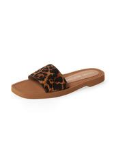 Women's Stuart Weitzman Delilah Genuine Calf Hair Slide Sandal