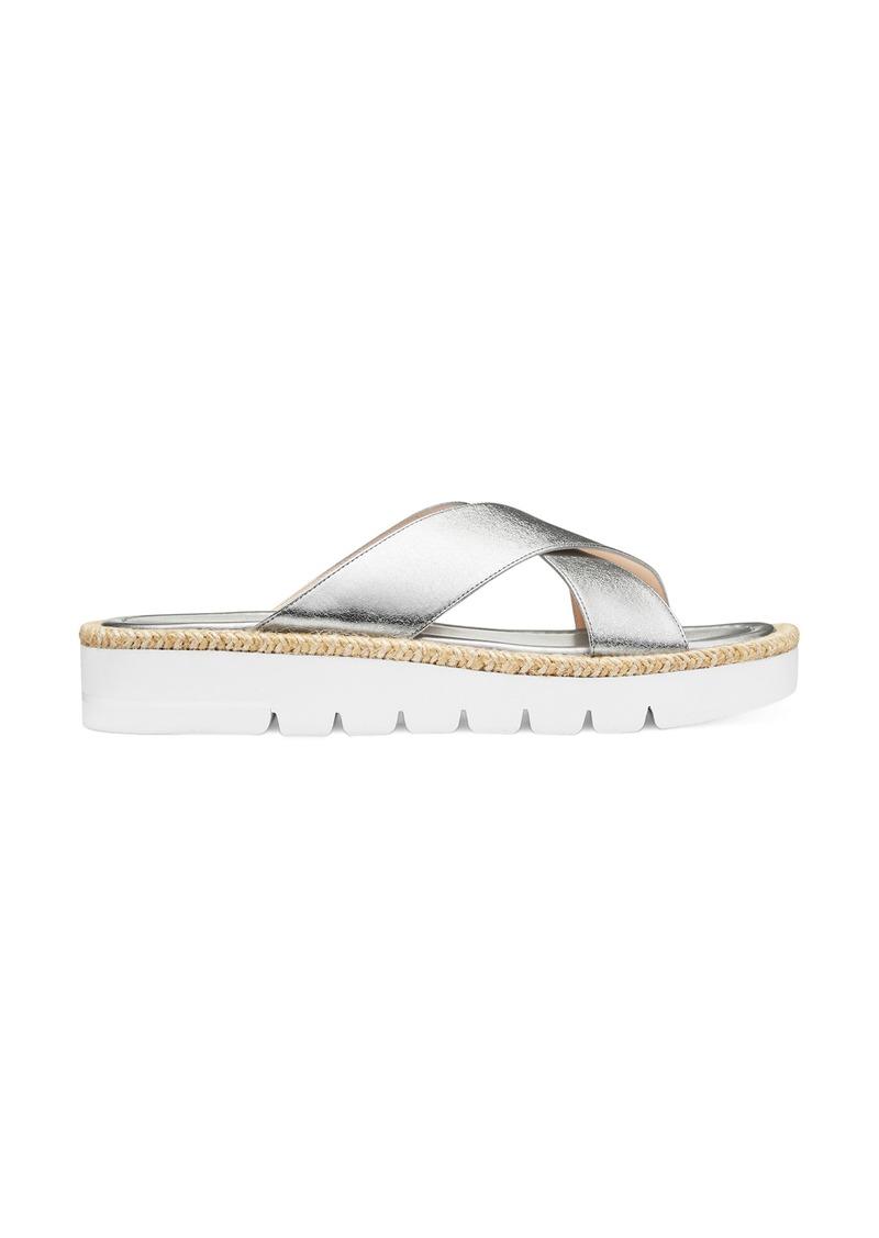 Women's Stuart Weitzman Roza Lift Slide Sandal