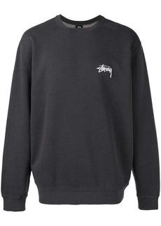 Stussy back print sweatshirt