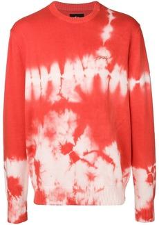 Stussy bleach dye sweater