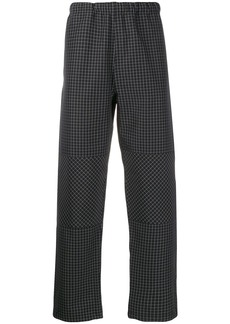 Stussy checked track pants