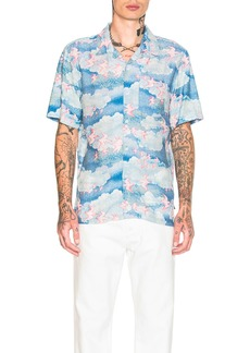Stussy Cloud and Birds Shirt