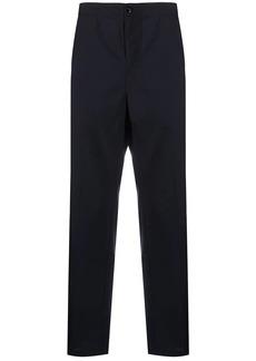 Stussy elasticated-waist straight-leg trousers