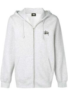 Stussy graphic print hoodie