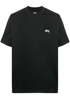 Stussy logo crew-neck T-shirt