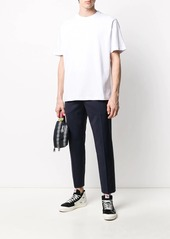 Stussy logo embroidered relaxed fit T-shirt
