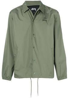 Stussy logo print shirt jacket