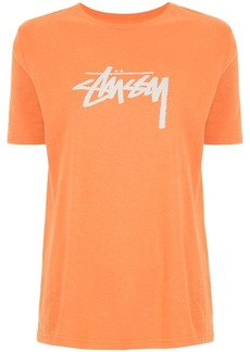 Stussy logo print T-shirt
