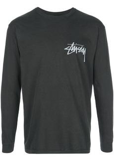 Stussy long sleeve logo top