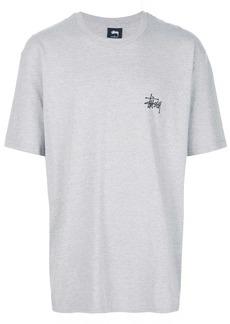 Stussy oversized logo print T-shirt