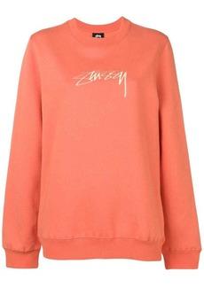 Stussy oversized logo sweatshirt