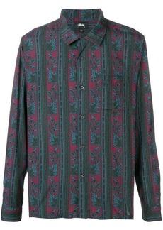 Stussy paisley pattern shirt