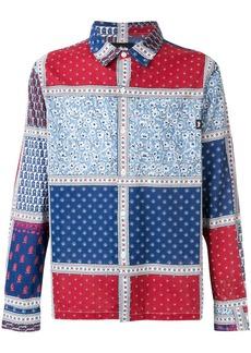 Stussy patchwork shirt