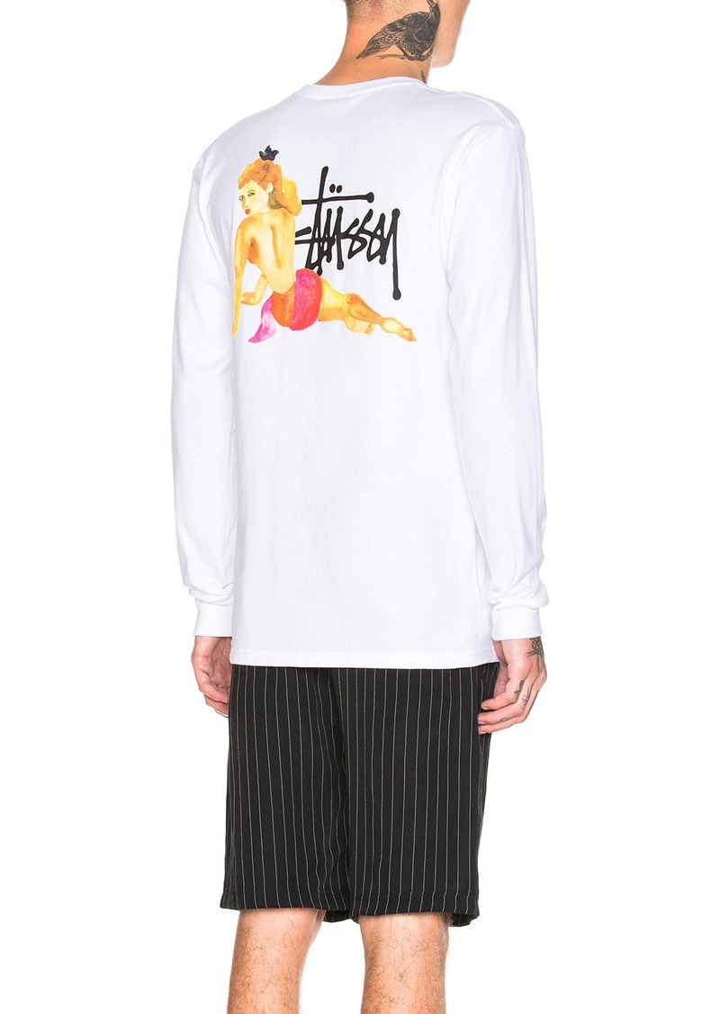29dff14bcfe Stussy Pin Up Long Sleeve Tee