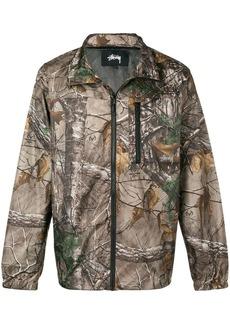 Stussy printed leaf jacket