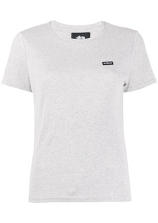 Stussy ribbed round neck T-shirt