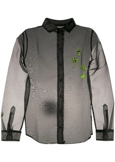 Stussy sheer long-sleeve shirt