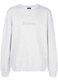 Stussy slouchy logo sweatshirt