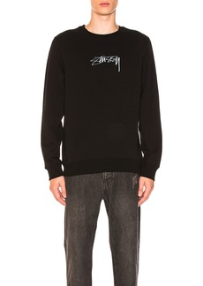 Stussy Smooth Stock Applique Crew