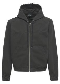 Stussy Solid Work Jacket W/ Hood