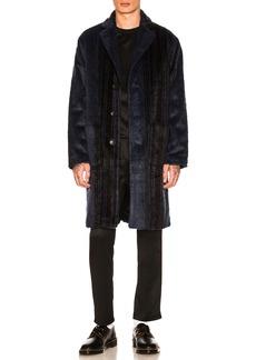 Stussy Stripe Overcoat