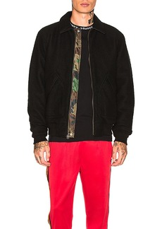 Stussy Boiled Wool Reversible Bomber