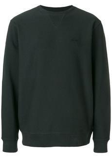 Stussy crew neck sweatshirt - Black