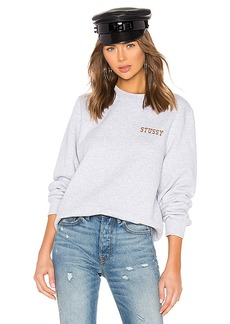 Stussy Ivy League Embroidered Crew Sweatshirt