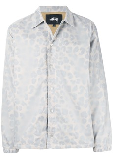 Stussy leopard print shirt jacket - Nude & Neutrals
