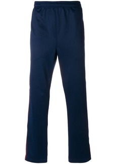 Stussy logo elasticated waist trousers - Blue