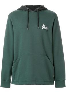 Stussy logo hoodie - Green