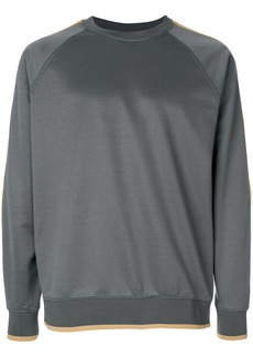 Stussy logo long-sleeve sweatshirt - Grey