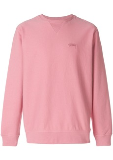 Stussy loose fit sweater - Pink & Purple