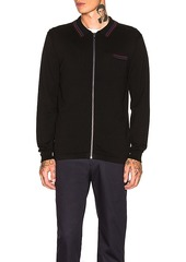 Stussy Perry Zip Polo Knit