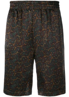 Stussy printed style shorts - Green
