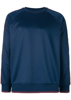 Stussy side strap sweatshirt - Blue