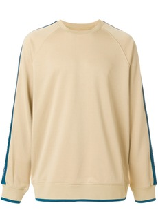 Stussy side stripe sweatshirt - Nude & Neutrals