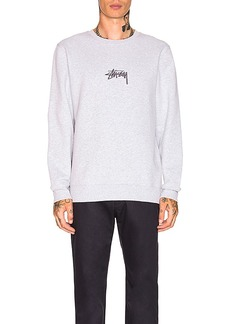 Stussy Stock Applique Crew