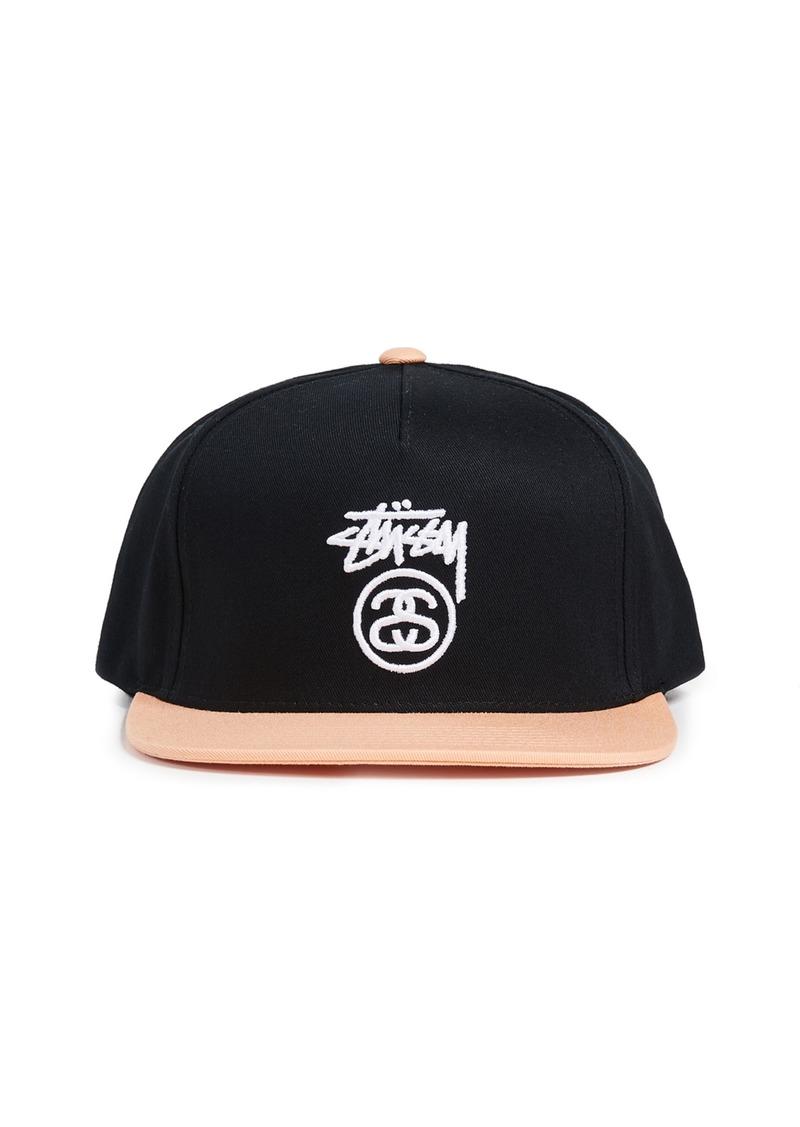 f96b124fa61b1c Stussy Stussy Stock Logo S18 Snapback Cap Now $28.00