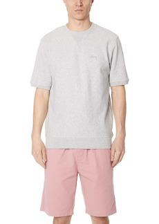 Stussy Stock Short Sleeve Terry Crew Sweatshirt