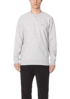 Stussy Stock Terry Crew Sweatshirt