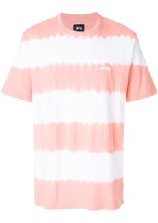 Stussy striped style T-shirt - Yellow & Orange