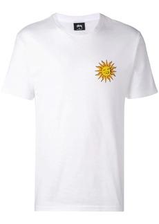 Stussy sun logo print T-shirt