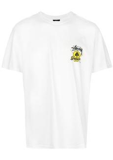 Stussy surf skull print T-shirt